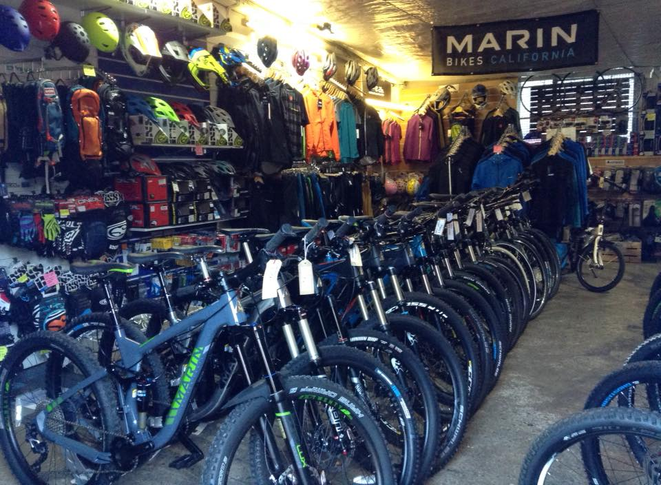 Marin Mountain Bike Demo Centre